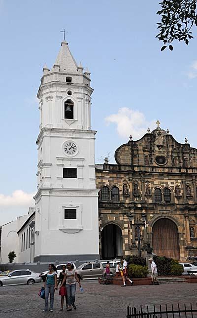 panama, panama city, church spire