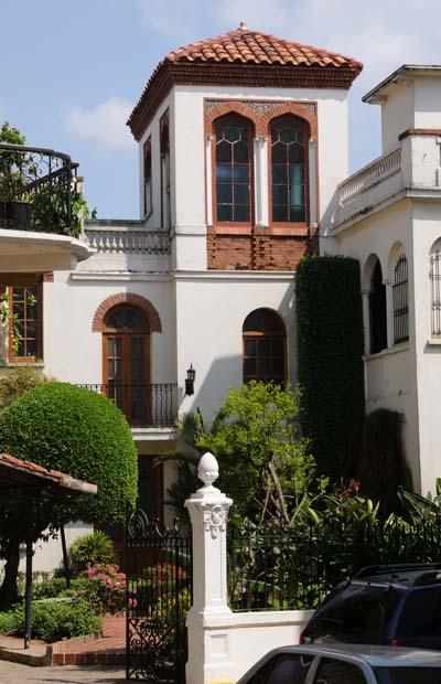 panama, panama city, courtyard
