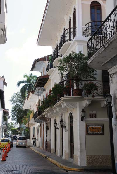 panama, panama city, french achitecture