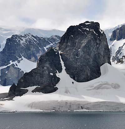 antarctica topography
