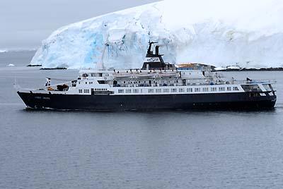 antarctica russian tourist ship