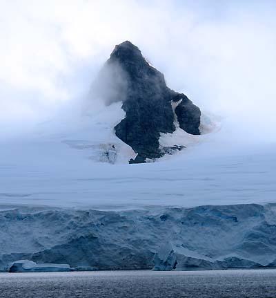 antarctica terrain