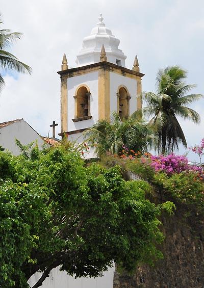 brazil, recife, church sao cosme e damiao