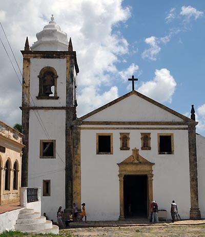 brazil, recife, sao cosme e damiao church