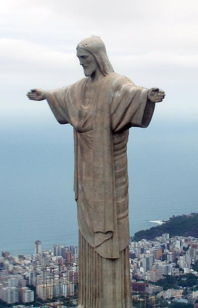 brazil, rio de janeiro, chris the redeemer statue