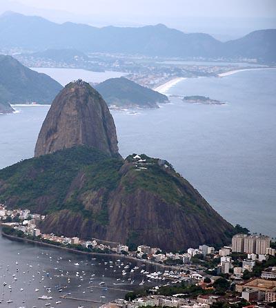brazil, rio de janeiro, sugarloaf mountain