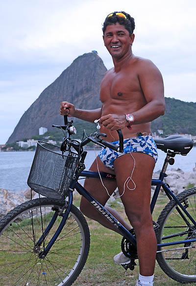 brazil, rio de janeiro, tan biker