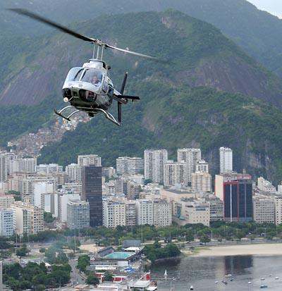 brazil, rio de janeiro, helicopter rides