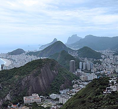 brazil, rio de janeiro, rio landscape