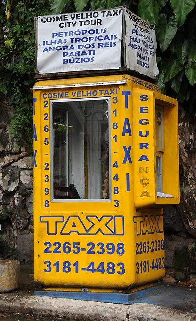 brazil, rio de janeiro, taxi service