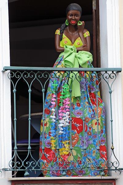 brazil, salvador, decorative mannequin