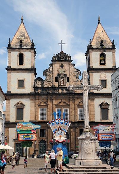 brazil, salvador, terreiro de jesus, cathedral basilica