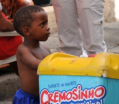 brazil, salvador, little boy