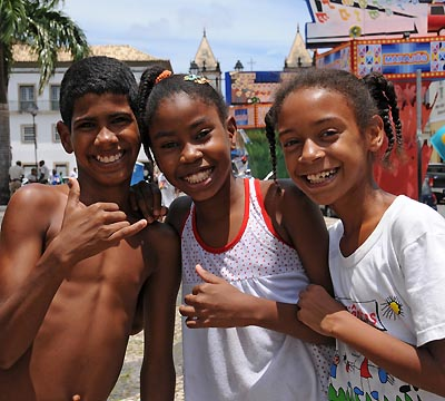 brazil, salvador, children