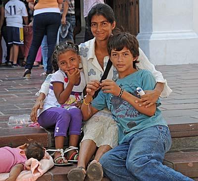 colombia, santa marta, family shot