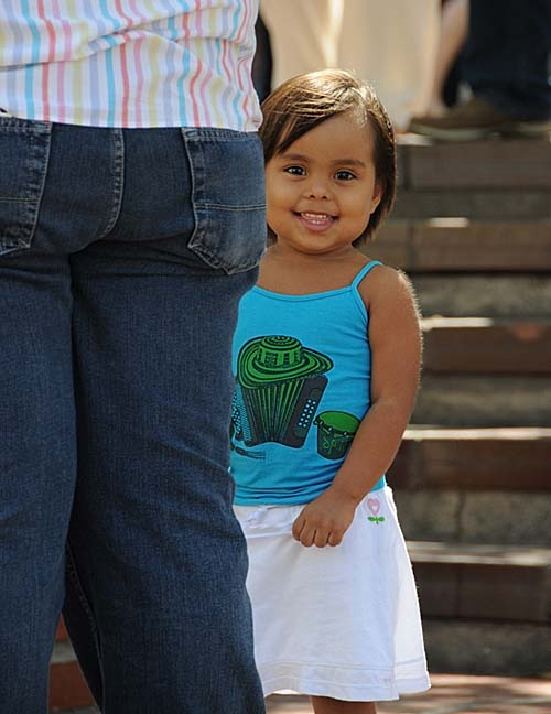 colombia, santa marta, small girl
