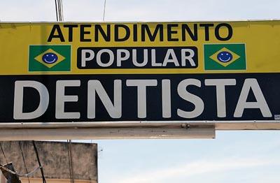 brazil, santarem, dentist
