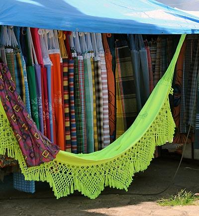 brazil, santarem, hammocks