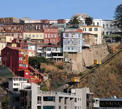 chile, valparaiso, travel ascensores