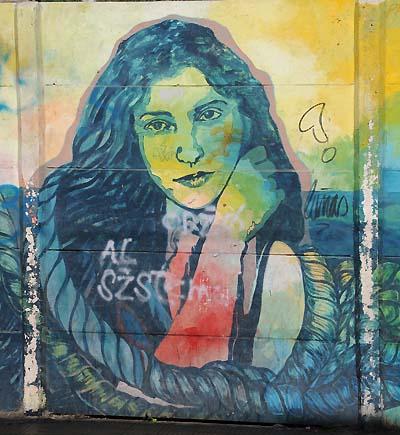 chile, valparaiso, street artwork