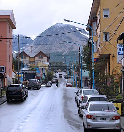 argentina, ushuaia, hilly terrain