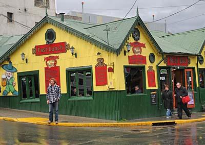 argentina, ushuaia, irish pub