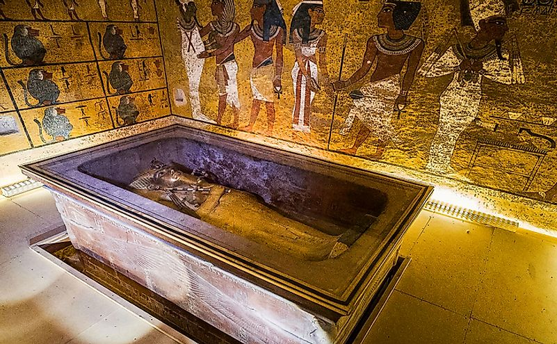 Tomb of Tutankhamun, Luxor, Egypt. Editorial credit: Nick Brundle / Shutterstock.com