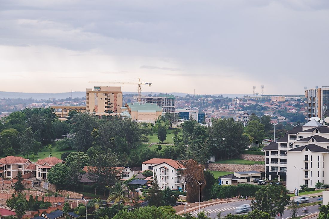 View towards the parliament of Rwanda. Editorial credit: JS Gordon-Moran / Shutterstock.com.