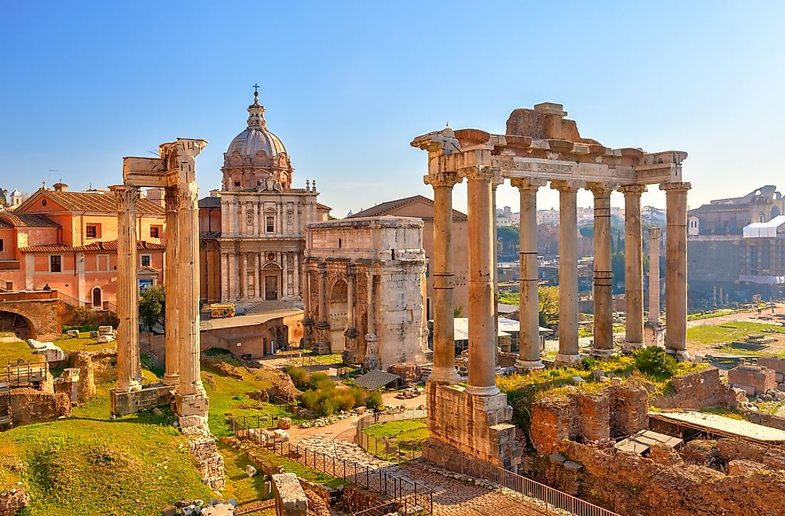 The Forum was home to many of Ancient Rome's most important events include elections, speeches, and trials.