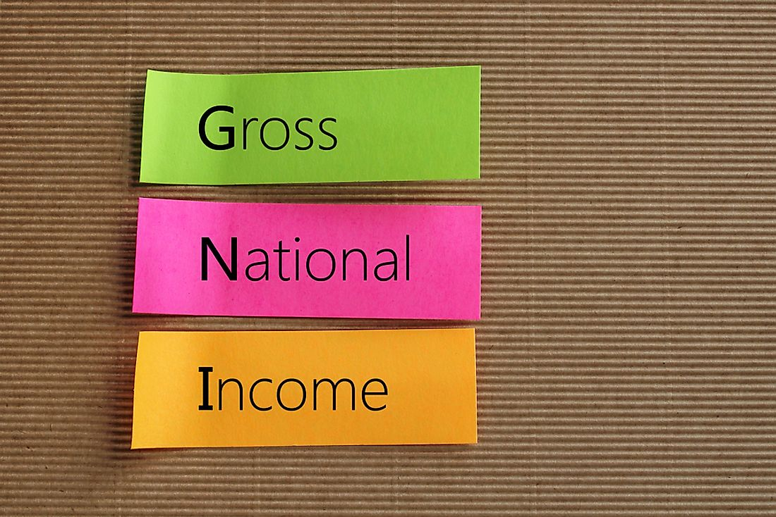 "GNI refers to ""Gross National Income""."
