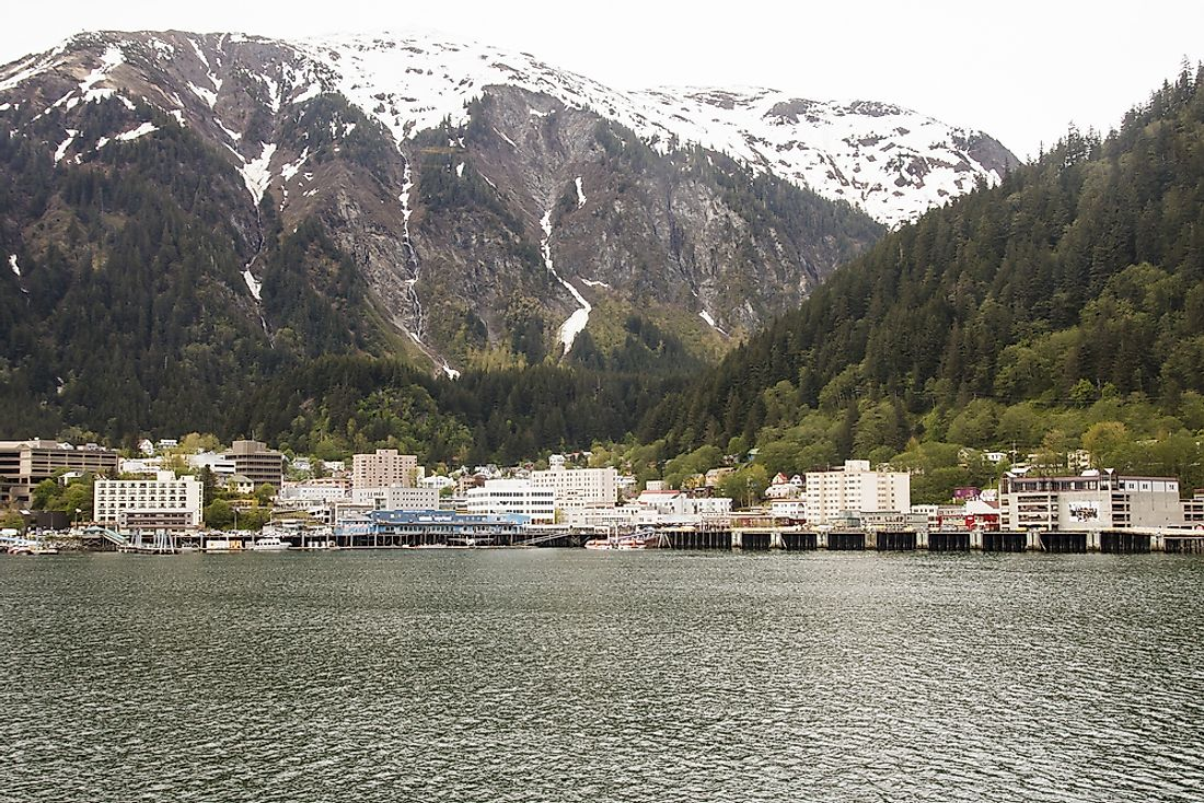Juneau, which was the territorial capital, continued to serve as the state capital after Alaska was granted Statehood.