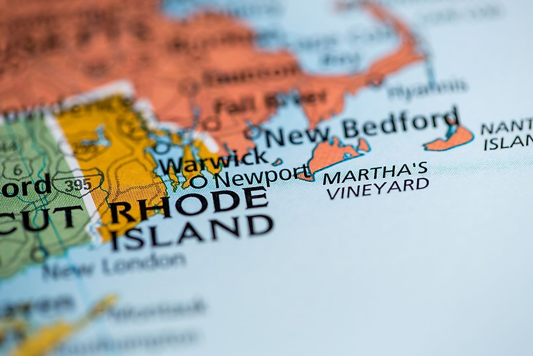 Rhode Island is the smallest state in the US by land area.