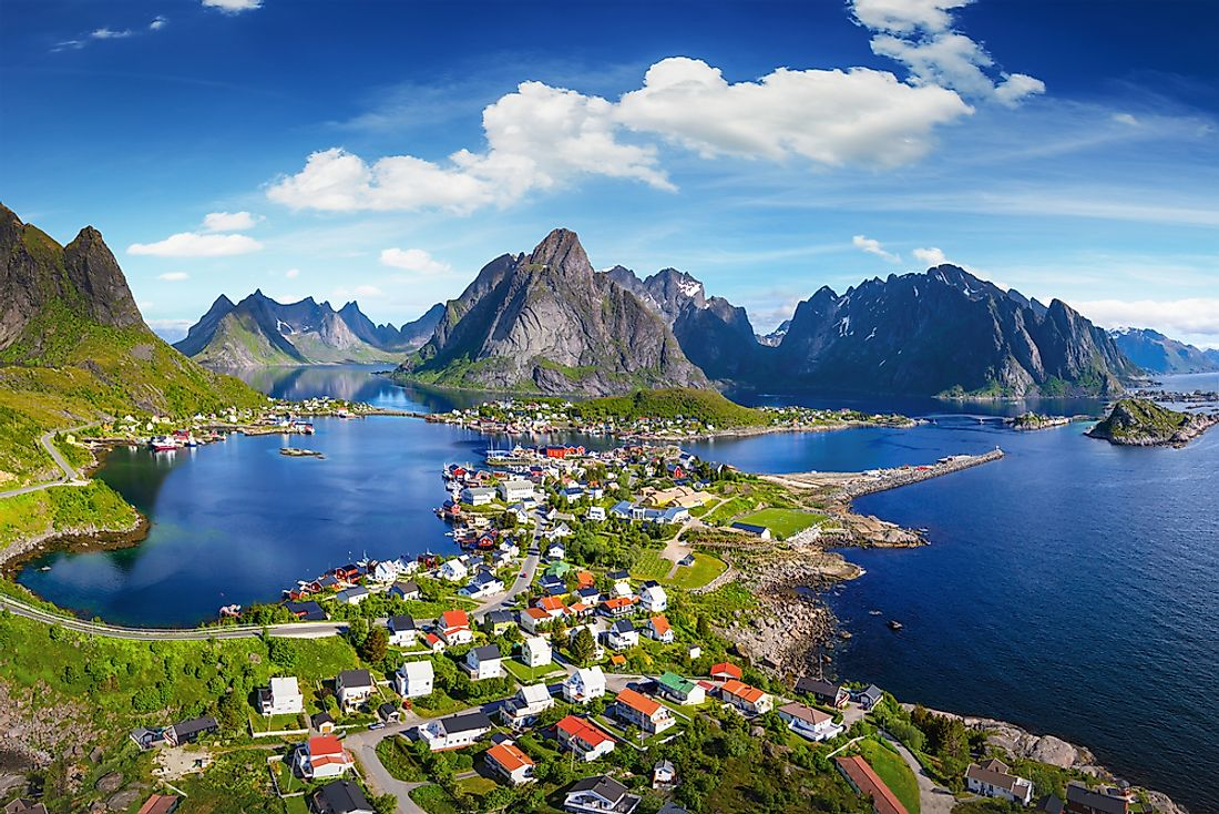 Norway Map Geography Of Norway Map Of Norway Worldatlascom - Map of norway