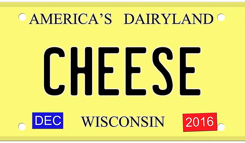 "Wisconsin, known for its cheeses, is also referred to as ""America's Dairyland""."