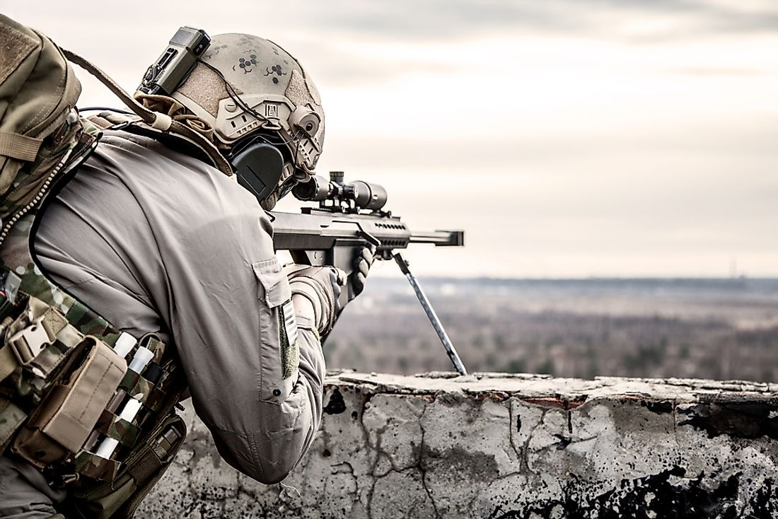 Many of the entries on the list of snipers are kept anonymous.