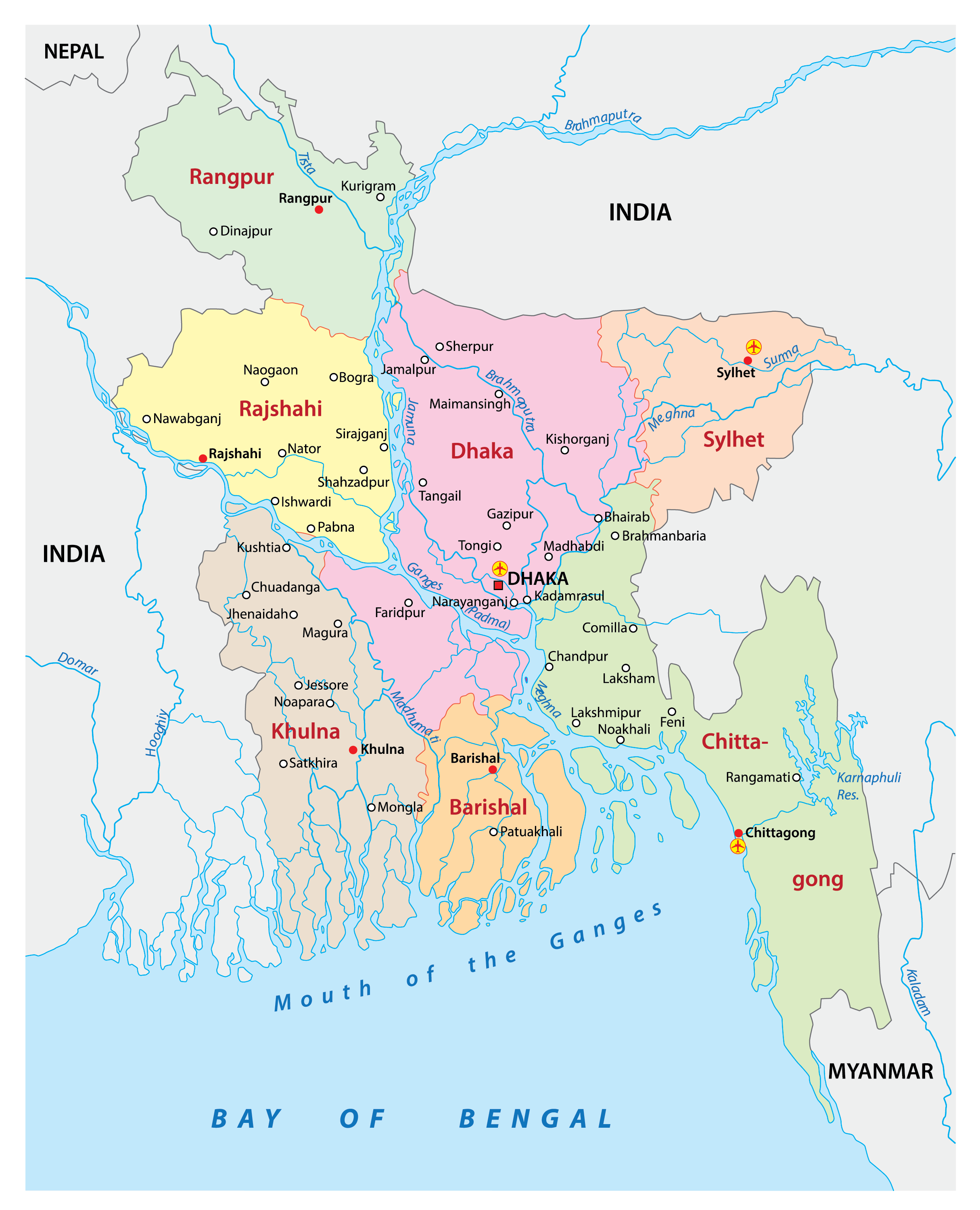 Picture of: Bangladesh Maps Facts World Atlas