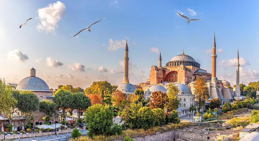 In 1182, Roman Catholics in Constantinople were driven out of the city, sold into slavery, or killed in the tens of thousands.