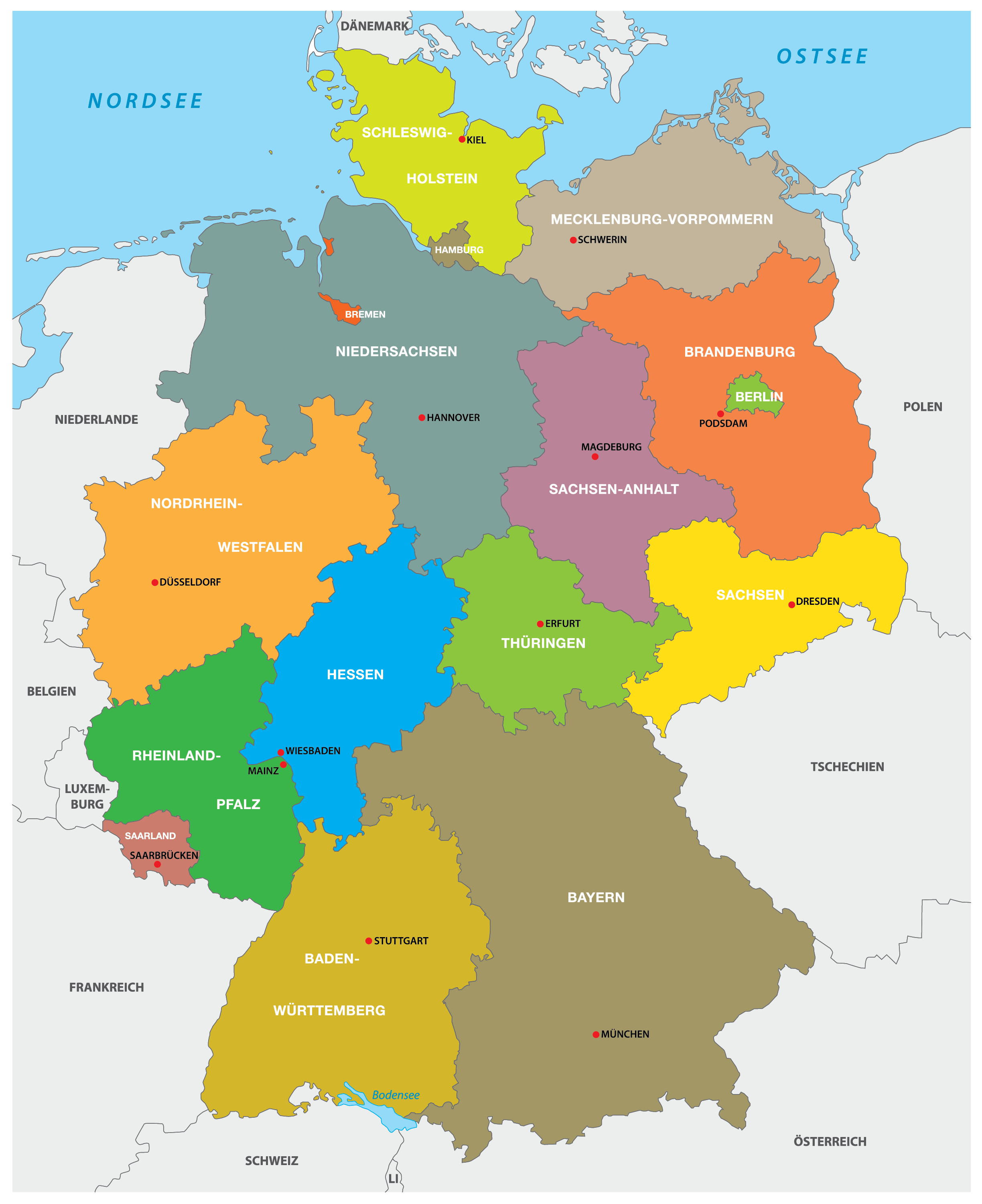 Germany Maps Facts World Atlas
