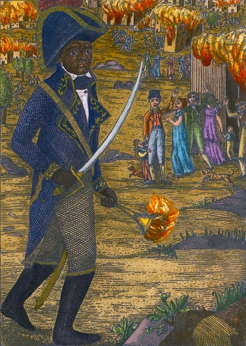 Born to a slave, Henri Christophe rose through the ranks of the French military before commanding Haitian Revolutionary forces against the French colonials.
