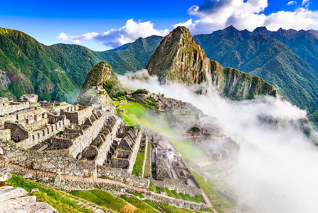 Machu Picchu is perhaps the most famous example of Inca ruins.