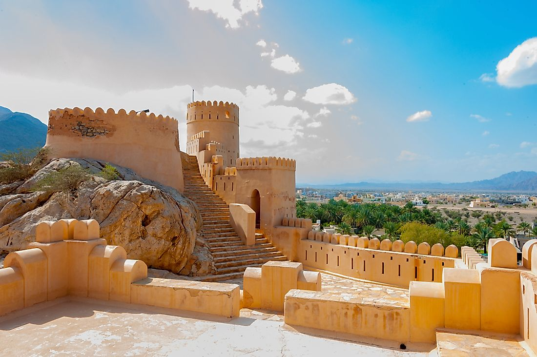 The famous Nakhal Fort, Oman.