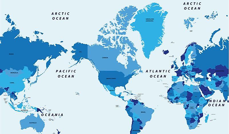 How Many Oceans Are There? - WorldAtlas.com India Map As Per Usa on animal map usa, argentina map usa, germany map usa, honduras map usa, pakistan map usa, afghanistan map usa, southern colonies map usa, tropical rainforest map usa, el nino map usa, fiji map usa, arctic ocean map usa, pacific ocean map usa, spain map usa, nepal map usa, russia map usa, ecology map usa, san andreas fault map usa, cuba map usa, murder map usa, tahiti map usa,