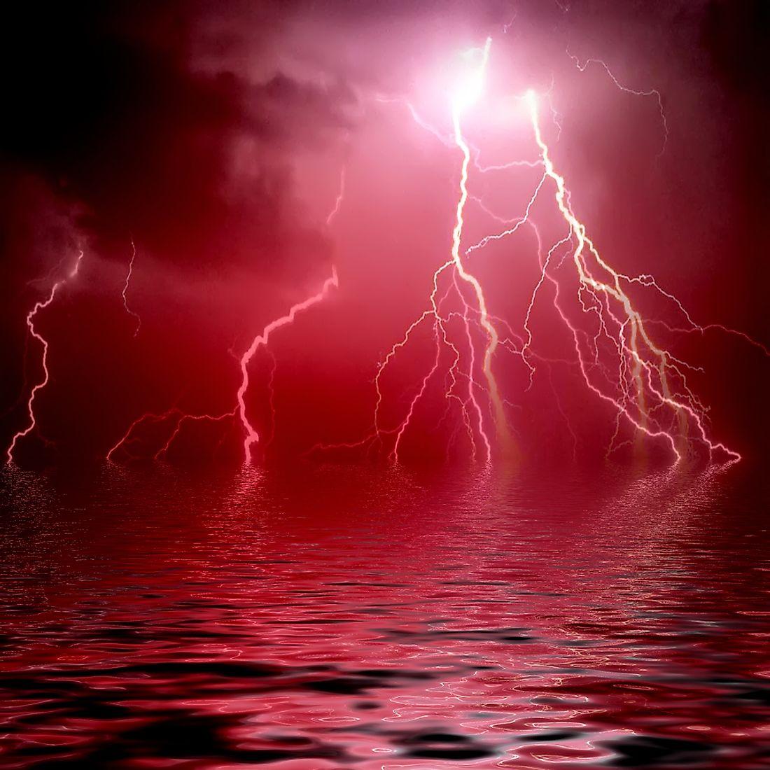 Is Red Lightning Real Worldatlas
