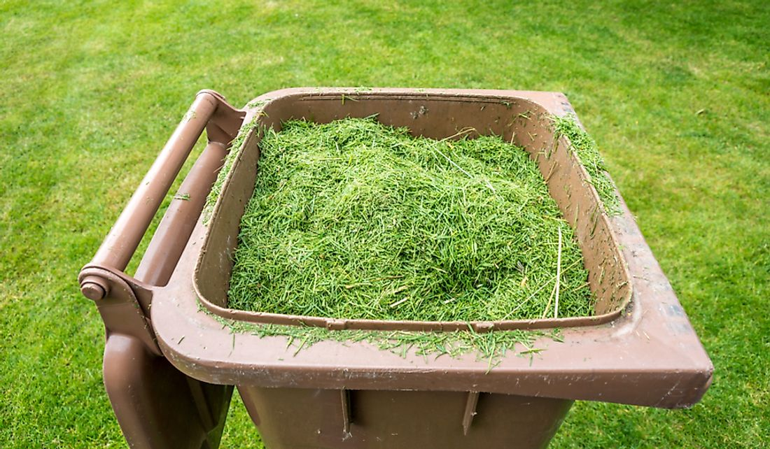 Grass clippings will be picked up by city workers and transferred to a composting site.