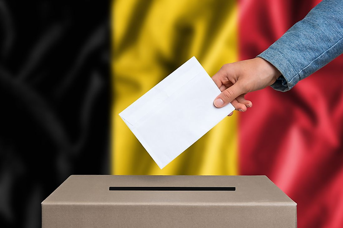 Belgium is among the 24 nations in the world with compulsory voting.