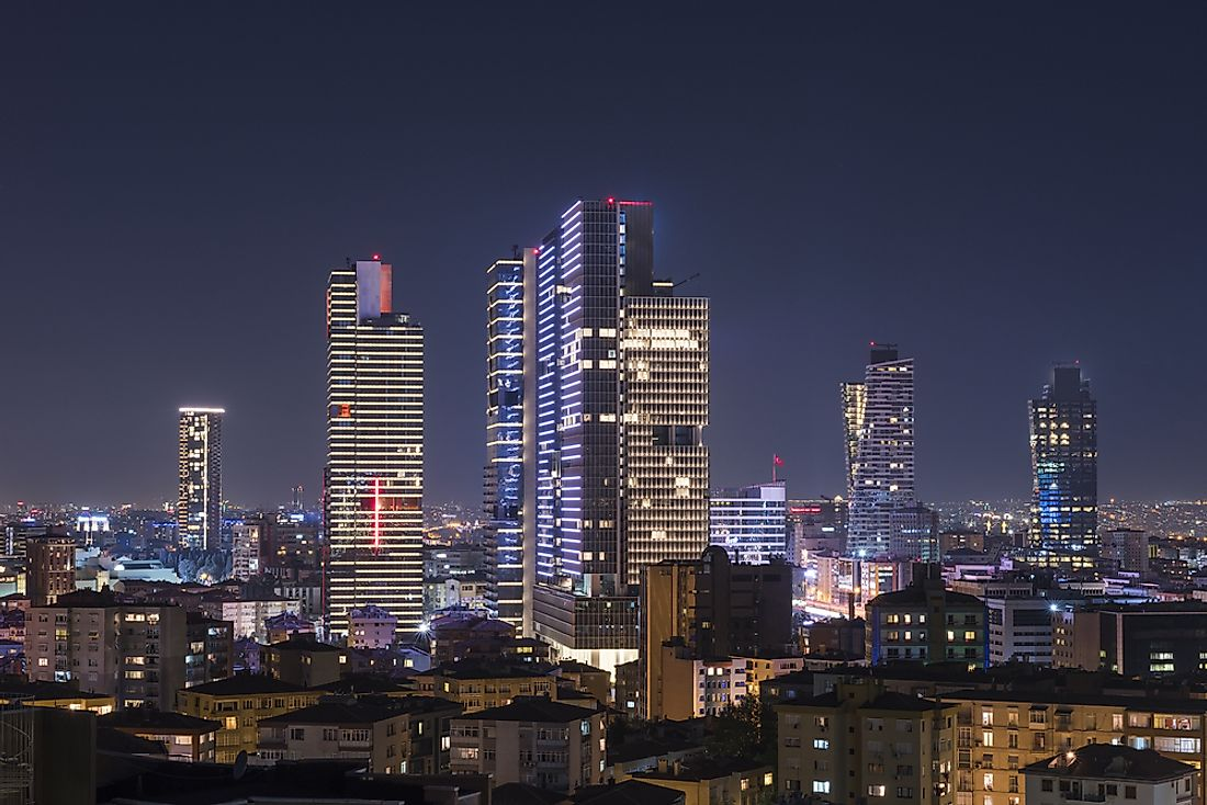 The Tallest Buildings in Istanbul