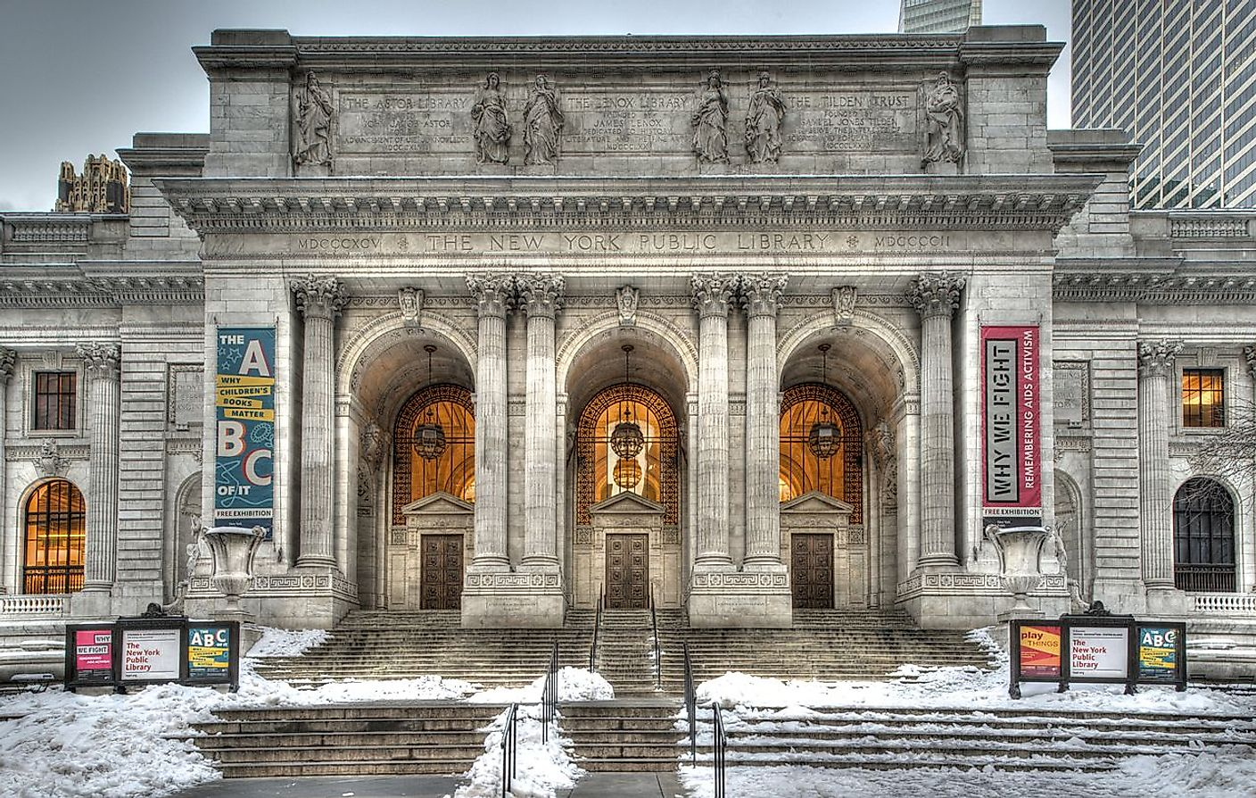 The New York Public Library. Image credit: Bestbudbrian/Wikimedia.org