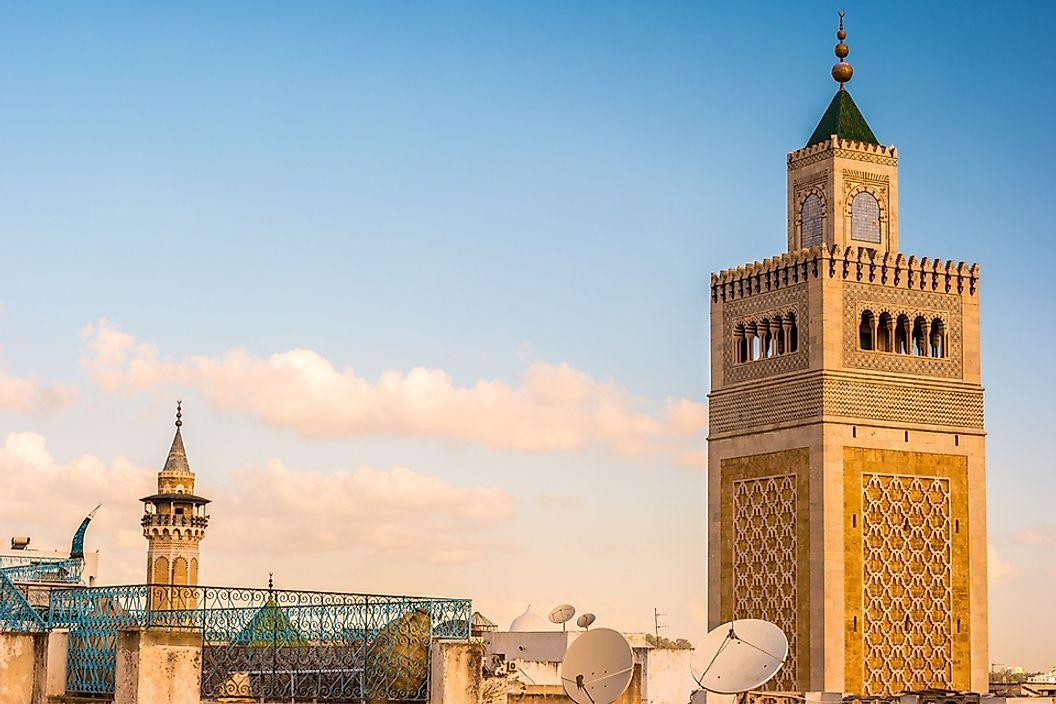 The Major Religions Practised in Tunisia