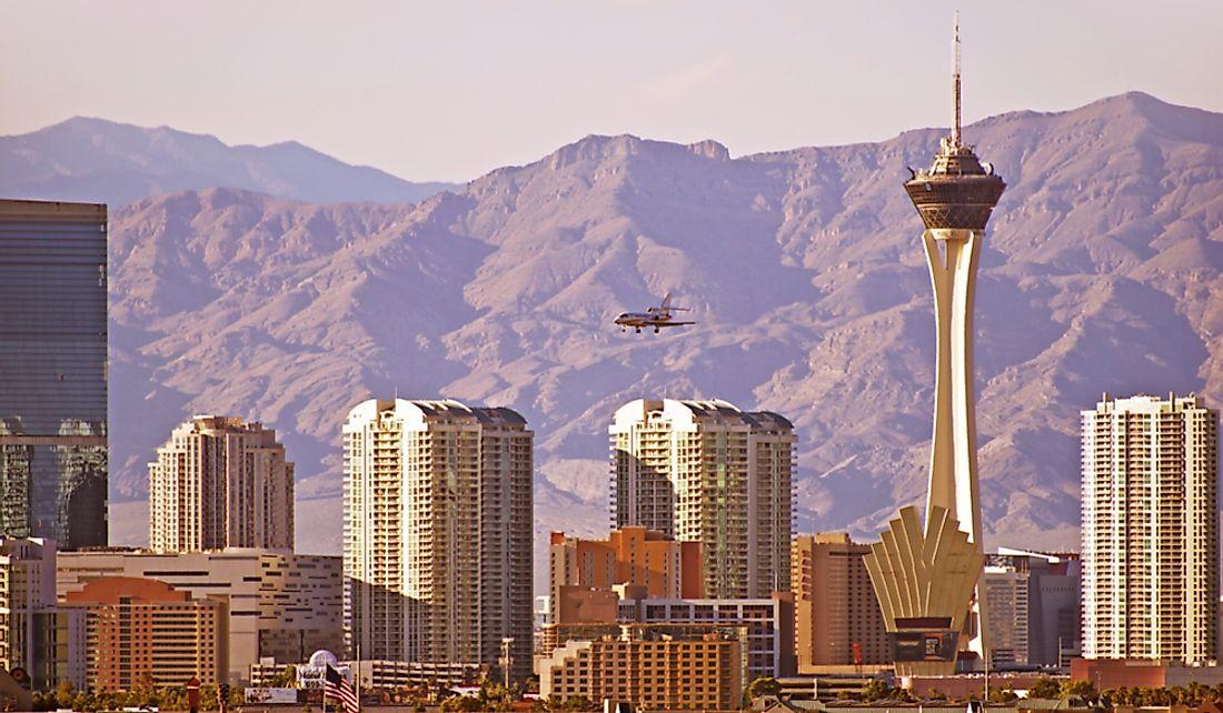 The 10 Biggest Cities In Nevada Worldatlas