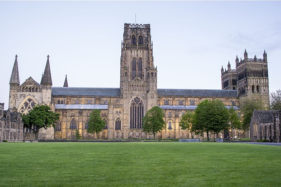 Durham Cathedral was founded in 1093.